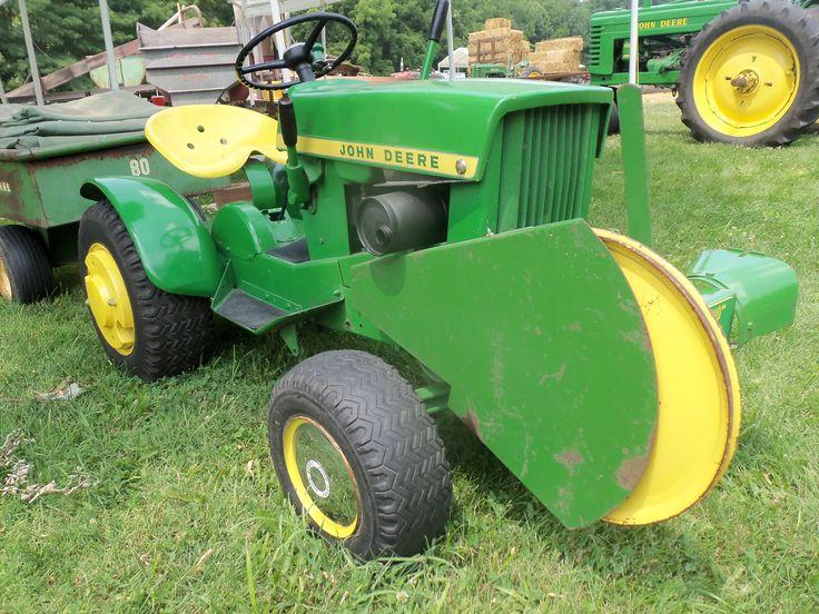 1966 John Deere Model 110 Lawn Garden Tractor John Deere Equipment Pinterest John Deere