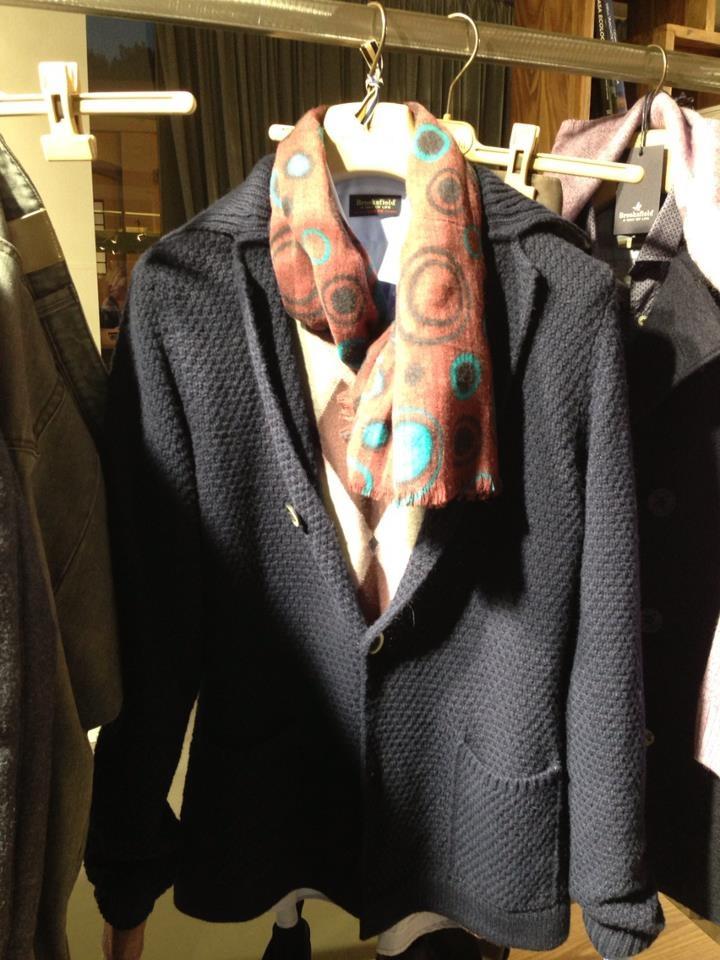 Soft wool Jacket by Brooksfield