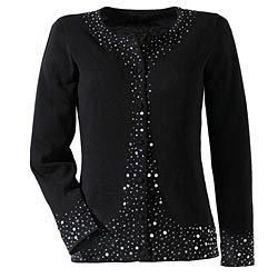 Out-On-The-Town Beaded Cardigan