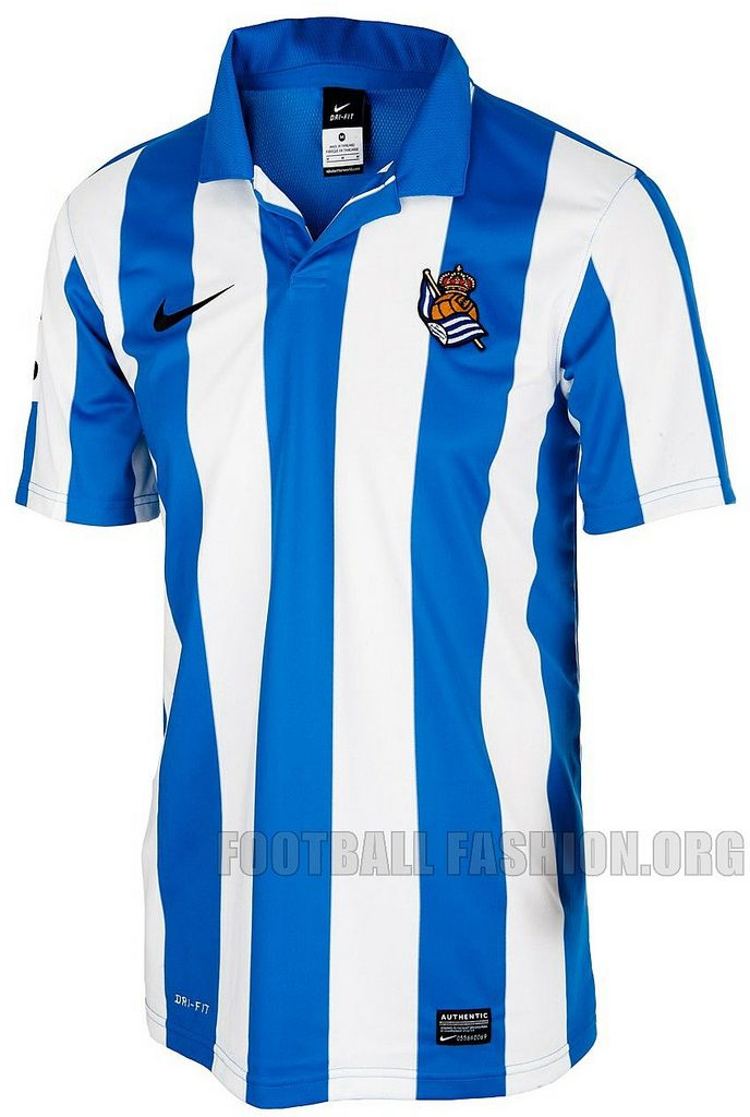 Real Sociedad Nike 2012/13 Home and Away Kits