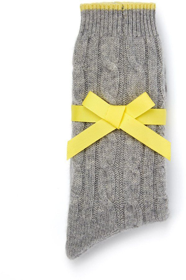 Pin for Later: Warm Their Hearts With These Cosy, Festive Fashion Gifts Boden Cashmere Socks Boden Cashmere Socks (£39)