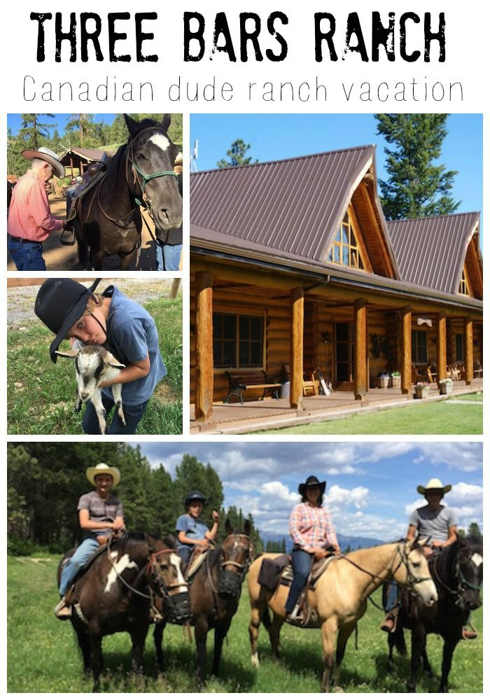 Three Bars Ranch family dude ranch experience: what to expect of this type of vacation!