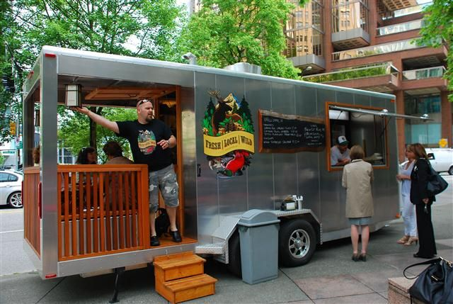food truck ideas | Fresh Local Wild - Food Cart Vancouver, BC (Downtown) | Follow Me  http://food-trucks-for-sale.com/