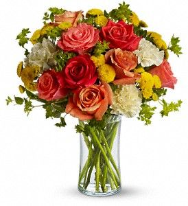 Citrus Kissed ( T157-1A)  Felthousen's Florist & Greenhouse in Schenectady NY  We Deliver around the world....