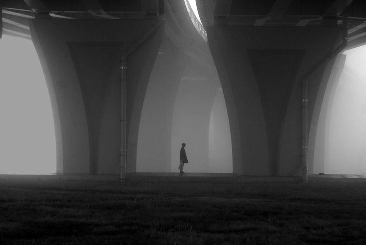 Digital Photography: Bridge in the Fog