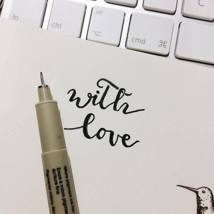 Siento no subir cosillas últimamente pero estoy un poco hasta arriba de trabajo y no tengo tiempo para nada!!! Ultimando los trabajos del 2016 para darle la bienvenida al 2017   #branding #illustration #withlove #handdrawn #lettering #oldblackbamboo