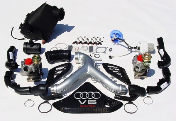 Audi B5 S4 - Stage 3 Turbo Kit
