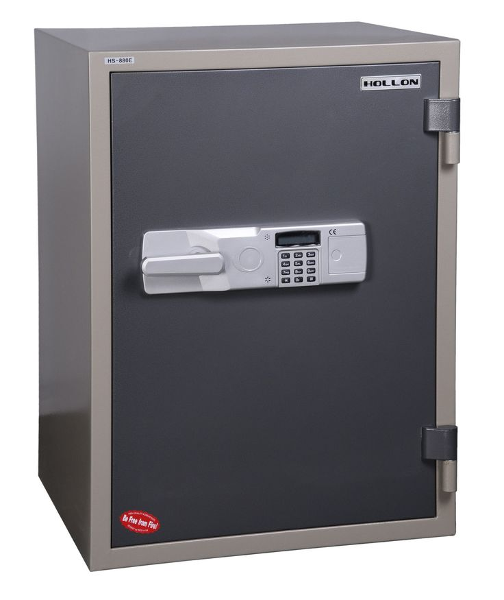 2 Hr Fireproof Electronic Lock Office Safe
