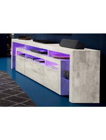 Lowboard, Breite 220 cm Jetzt bestellen unter   moebel - wohnzimmer grau magenta
