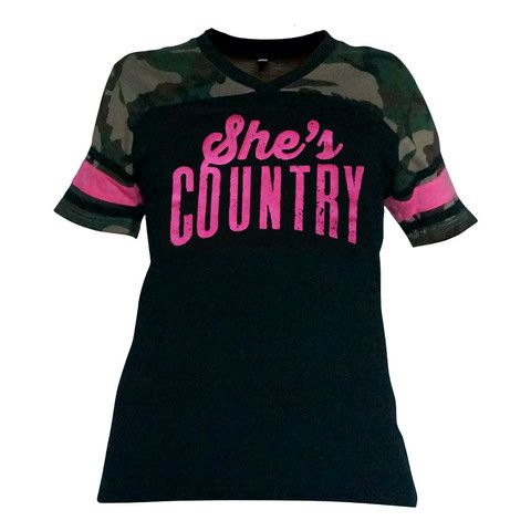 She's Country Women's Football Jersey