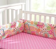 girls nursery colors: Polka Dots, Nurseries Colors, Cribs Sheet, Cribs Beds, Pottery Barn Kids, Baby Girls Rooms, Pottery Barns Kids, Girls Nurseries, Baby Girls Beds