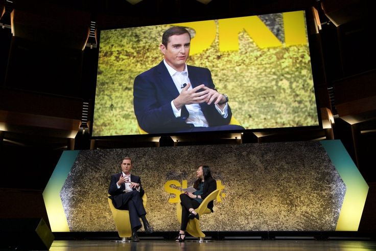 IHG CEO Sees Better Tech as Making Things Smoother Behind the Scenes  Pictured is Intercontinental Hotel Group CEO Keith Barr (L) speaking to moderator Deanna Ting on stage at Skift Global Forum in New York City on Sept. 26 2017. Skift  Skift Take: Keith