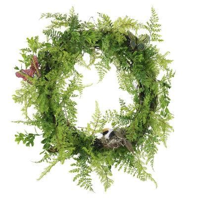 DIY Fern Wreath. . . I will never hear the name 'Fern' and NOT think of Charlotte's Web.