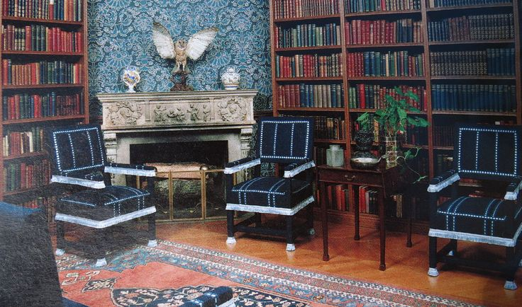 Biltmore  Vanderbilt  Biltmore estate Smoking room Mansions