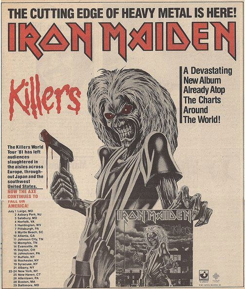 singles in maiden rock Iron maiden were the first band i fell in love with, in the mid 1980's, always had massive respect for this band up the irons.
