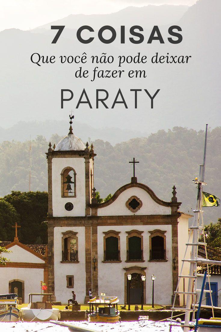 7 coisas que você não pode deixar de fazer em Paraty, no Rio de Janeiro. Descubra qual a história e principais pontos turísticos do seu centro histórico, quais os passeios e praias mais bacanas da região, além de outras atrações imperdíveis na cidade.