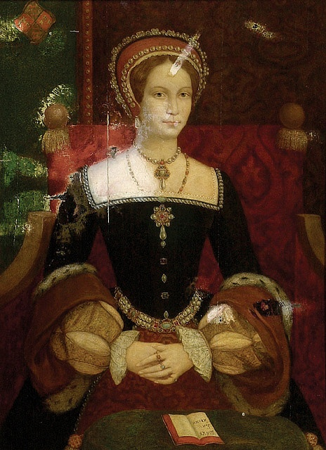 Queen Mary I, daughter of Henry VIII and Katerina de Aragon