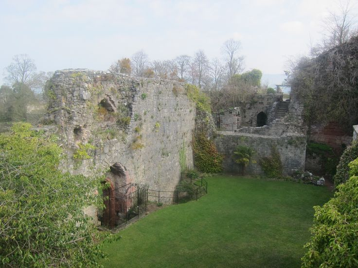 Stay at Ruthin Castle in Wales, and explore the castle ruins while you're there.