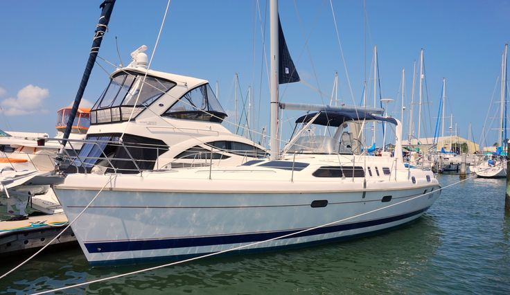 45 Hunter sailboat for sale
