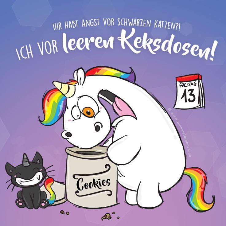 Freitag der 13! Wovor habt ihr Angst?  #pummeleinhorn #freitag #freitag13 #pech