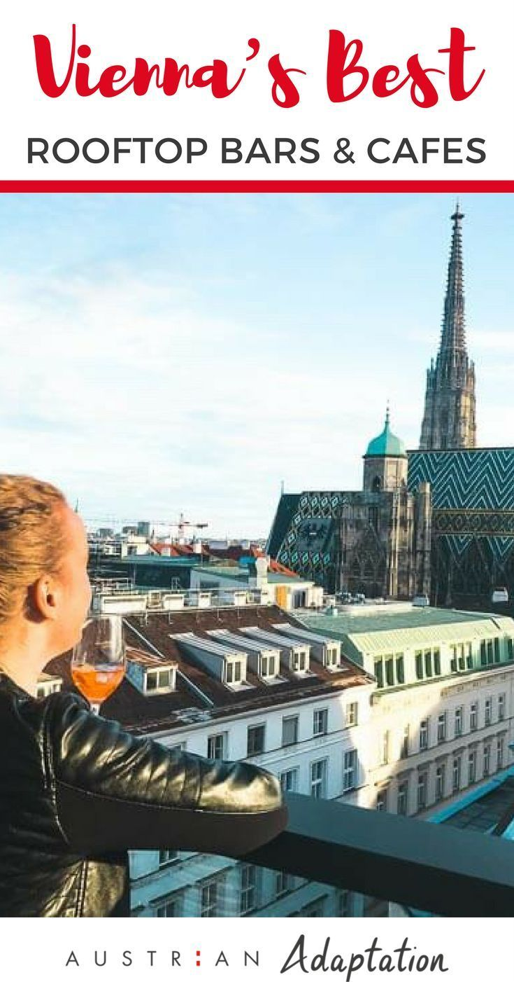 Peak summer is upon us in Vienna, Austria and there's only one sure-fire way to make the most of this magical, sweaty time of year – head up. The city is peppered with plenty of glorious #rooftop #bars and cafe's, you just have to know where to find them to #Austria #Europe #nightlife #bucketlist #cafe #Vienna