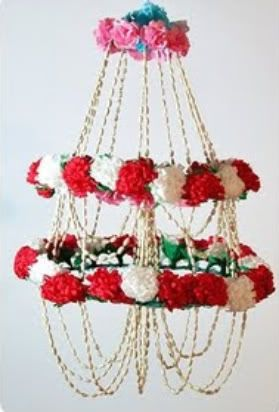 14 best pajaki love images on pinterest paper chandelier polish chandelier mozeypictures Image collections