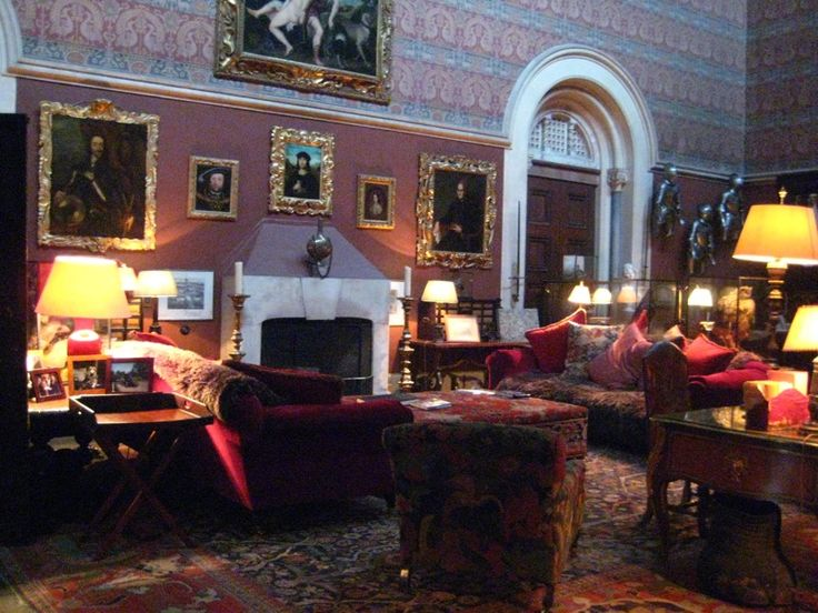 Room in Eastnor Castle, used in The Eligible Bachelor (1993)