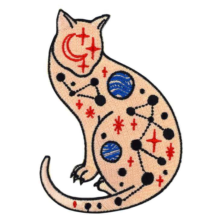 Cosmic Cat Patch by David Polka from Valley Cruise Press