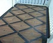 Love painted porch floors.