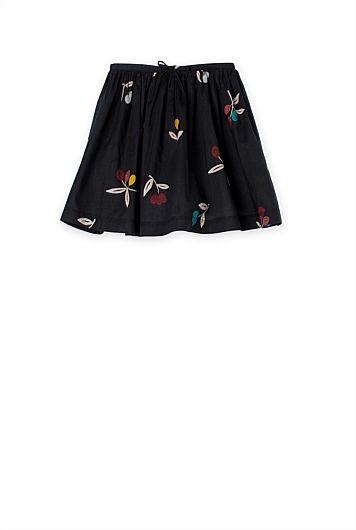 Autumn Print Skirt