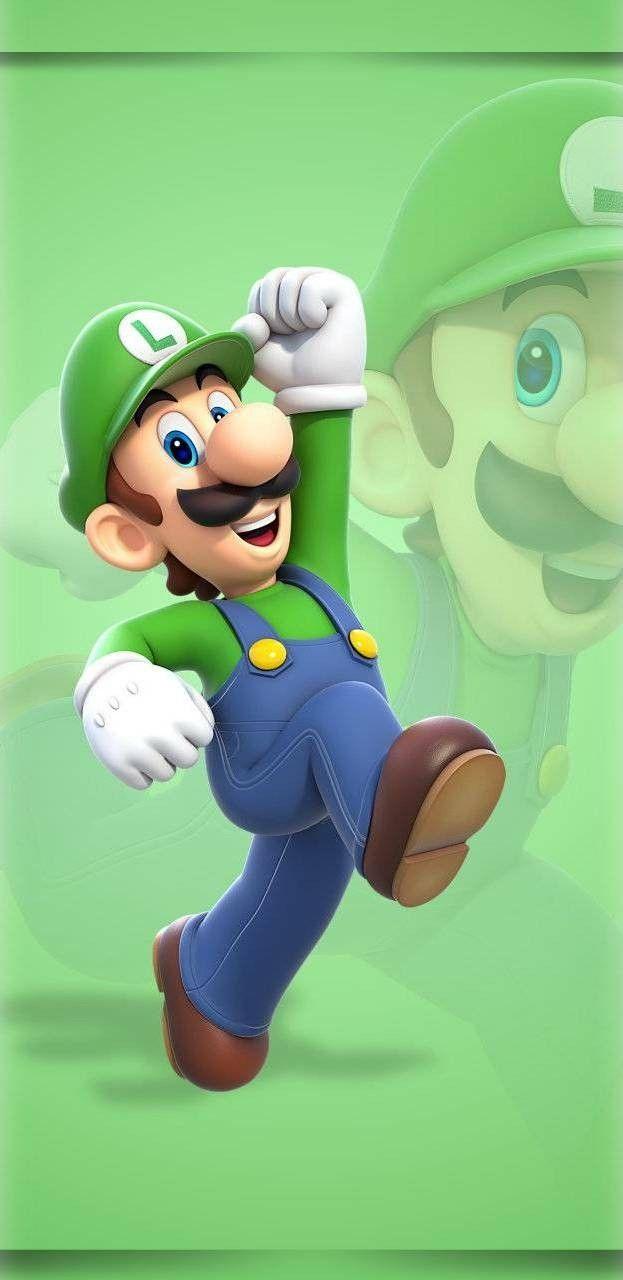 New Wallpaper Luigi And Mario Pinterest Nintendo Super