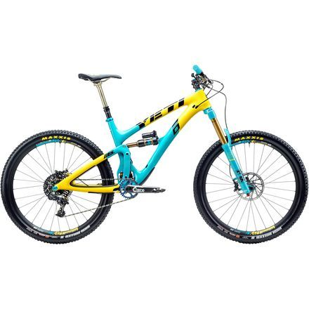 Yeti Cycles SB6 Carbon Anniversary Edition X01 Complete Mountain Bike - 2016