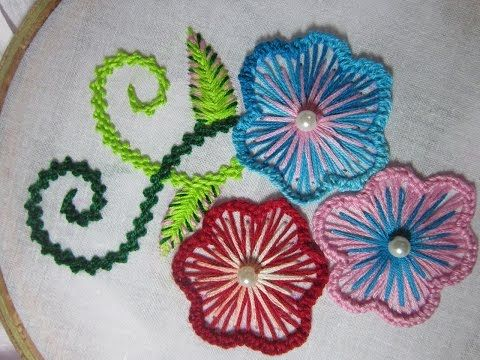 Hand embroidery designs   Embroidery design for dresses   Stitch and Flower-102 https://youtu.be/IkIqsMK9uNI Store: http://handembstitch.blogspot.com/p/embroidery-store.html For many years, nothing has described charm more definitely to ladies than a des