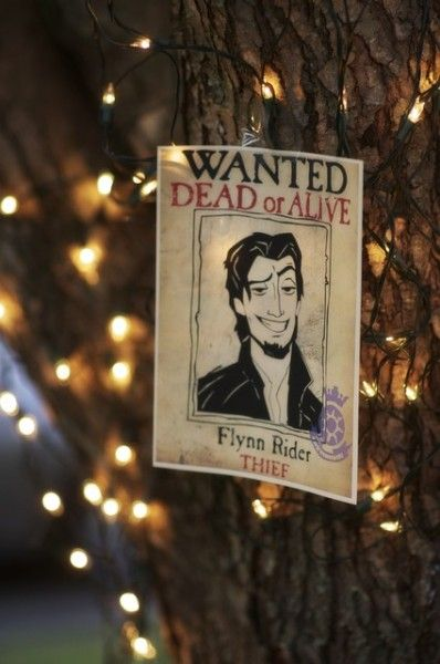 Tangled wedding ideas: Put your own face instead of Flynn Rider...I would do this just because I LOVE tangled!!! so cute