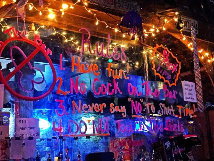 Coyote Ugly Rules  #austintexas #coyoteUgly #birthdaycelebration #ladiesnight #bars #texas by ewear22