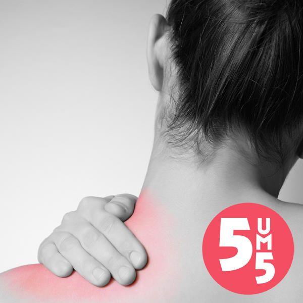 Nackenschmerzen schnell stoppen: 5 Tipps