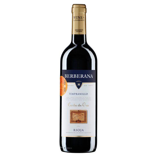 Berberana Carta de Oro Tempranillo Rioja http://www.ocado.com