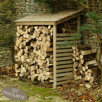 Logstore - need to build this so we can move all of our firewood out of our garage.