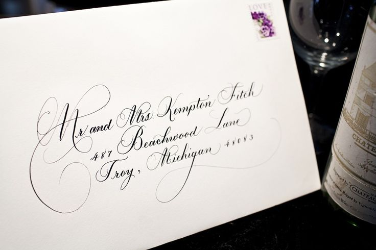 When To Mail Wedding Invitations Emily Post: 17+ Best Ideas About Address Envelopes On Pinterest