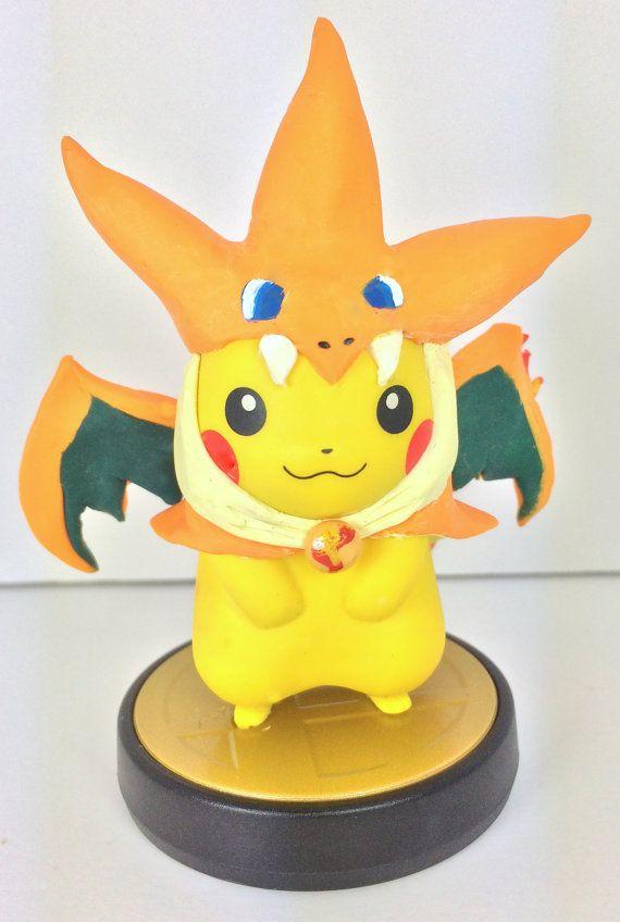 Amiibo Custom Charizard Onesie Pikachu By Alltheapplesdoubled Amiibo The Good The Bad And