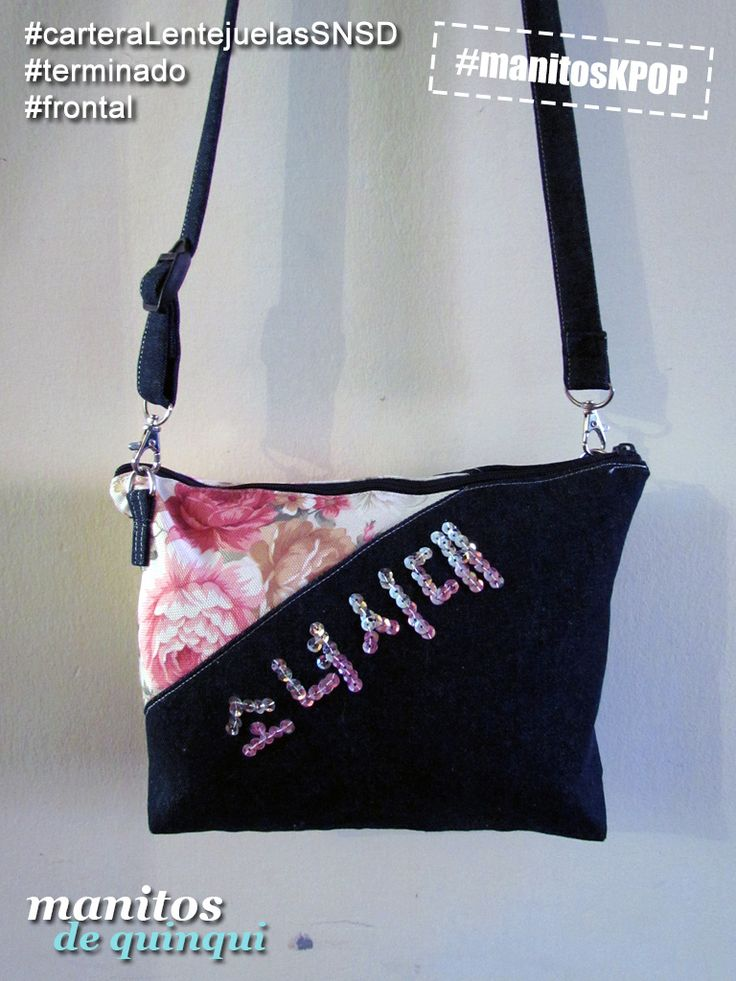 #carteraLentejuelasSNSD #manitosKPOP #kpop #snsd #sone #ManitosDeQuinqui #manualidades #hechoamano #handmade #bolso #cartera #bag #handbag #Chile #LaSerena