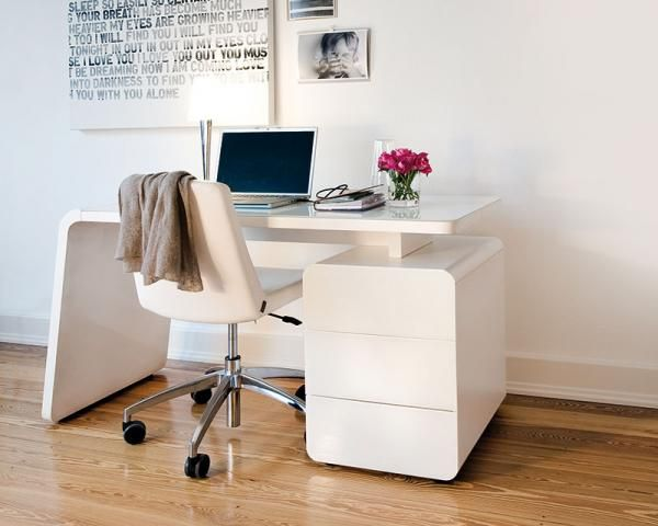 Best 25+ White desk with drawers ideas on Pinterest | White desks ...