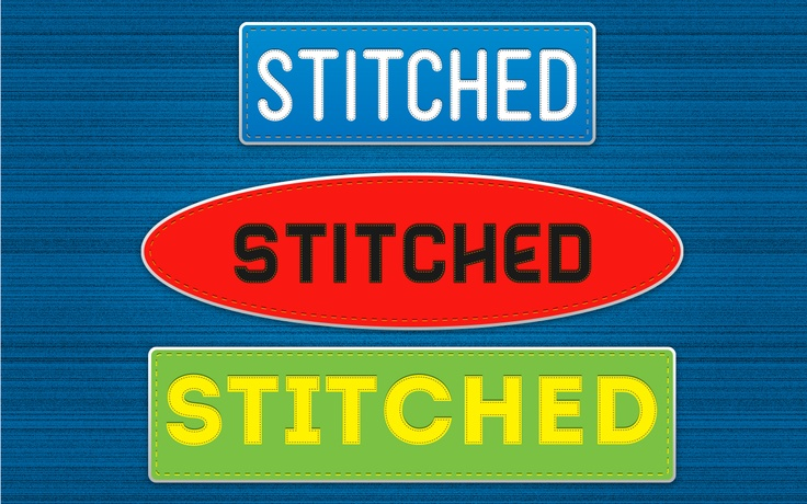 Stiched Effect