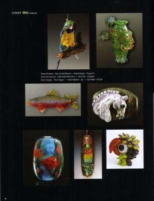 A slide show (http://www.isgb.org/index.php?option=com_flippingbook&view=book&id=3) of the selected beads demonstrates the breadth of styles and techniques employed by some of the best lampworkers today.: Lampwork Artists, Artists Form, Selected Beads, Bead Inspiration, Techniques Employed, Beads Demonstrates, Lampworkers Today