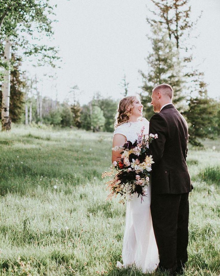"Mountain wedding elopement photo inspiration | Elopement Wedding Photographer on Instagram: ""Could I be dreaming? Because this shoot in the mountains was a total dream. ❤️"" 