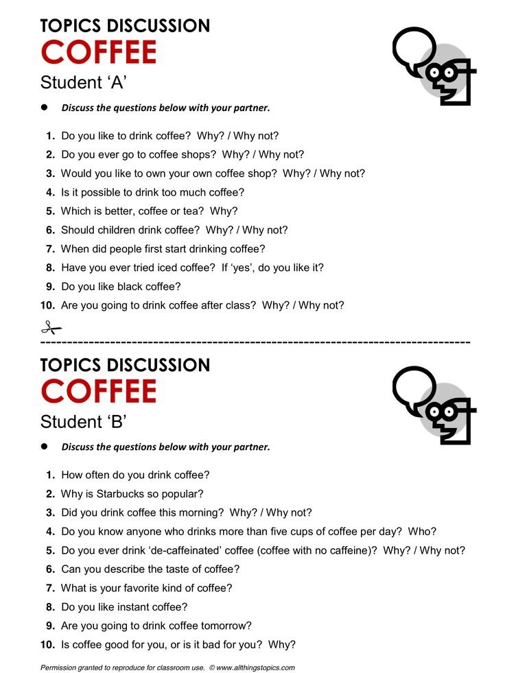 Coffee, English, Learning English, Vocabulary, ESL, English Phrases, http://www.allthingstopics.com/coffee.html