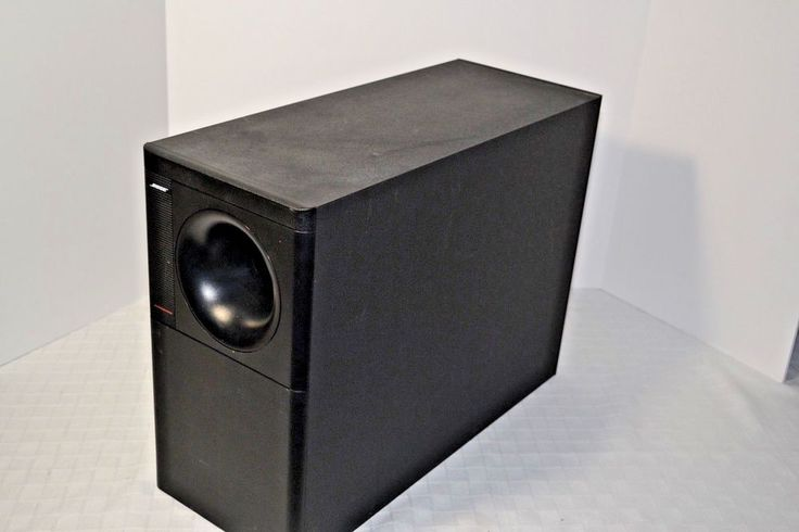 Bose Acoustimass 7 Subwoofer (ONLY) Home Theatre Speaker System Black  #Bose
