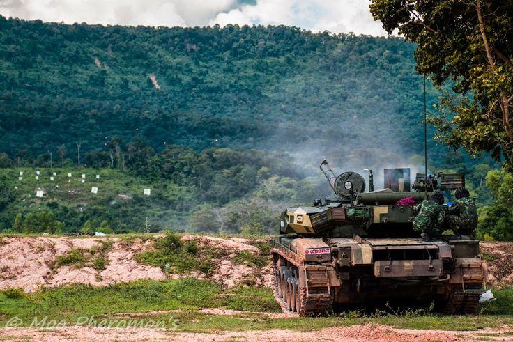Танк «Оплот-Т» Королівської армії Таїланду (Royal Thai Army), фото  © Moo Pheromone's