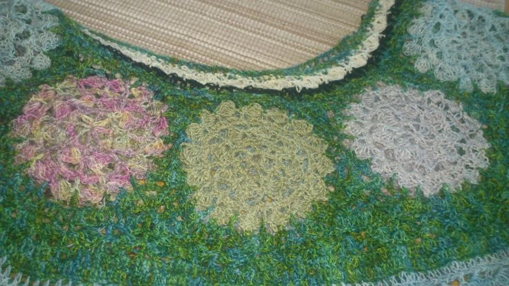 my new summerdress crochet lace started