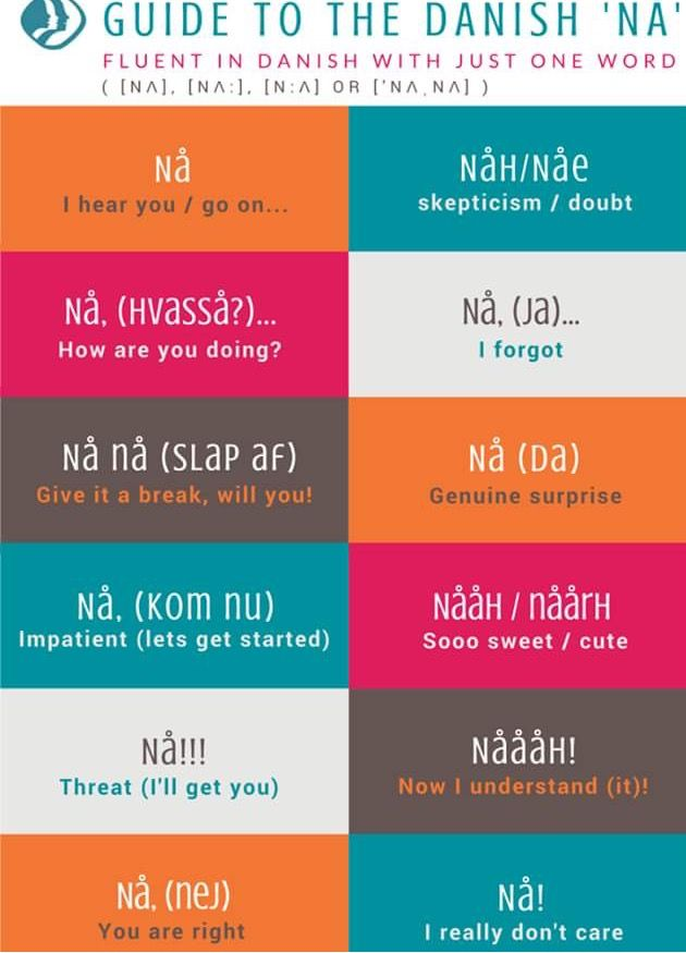 Guide to the Danish word 'na'